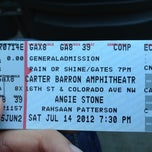 Photo taken at Carter Barron Amphitheatre by Raul P. on 7/14/2012