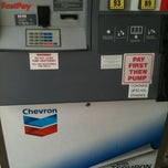 Photo taken at Chevron by Maria G. on 7/8/2012