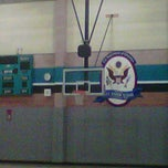 Photo taken at Iron Horse Community Gym by Sam A. on 11/8/2011