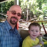 Photo taken at Rollo Coaster  @idlewildpark by Chuck M. on 8/22/2012