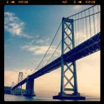 Photo taken at Under The Bay Bridge by Russ M. on 2/17/2012