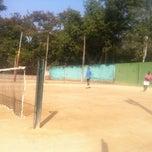 Photo taken at Tennis Court by Yogi K. on 1/22/2012