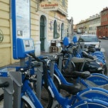 Photo taken at Vélo Bleu (Station No. 84) by Iarla B. on 3/11/2012