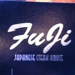 Photo taken at Fuji Japanese Steak House by Aaron C. on 8/22/2012