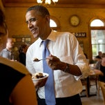 Photo taken at UNH Dairy Bar by The White House on 7/20/2012