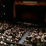 Photo taken at Marion Oliver McCaw Hall by Beatrice R. on 10/29/2011