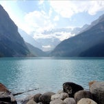Photo taken at Lake Louise, Banff National Park by Laissez F. on 8/27/2012