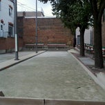 Photo taken at Little Italy Bocce Court by Matthew B. on 7/22/2012
