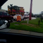 Photo taken at Popeyes by Brandin A. on 3/21/2012