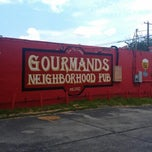 Photo taken at Gourmands Neighborhood Pub by Mark G. on 7/8/2012
