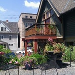 Photo taken at Carriage House Cafe by Elizabeth on 7/8/2012