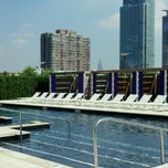 Photo taken at Trump Plaza Pool Deck by Moses A. on 1/7/2011