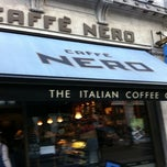 Photo taken at Caffè Nero by Jamie P. on 10/19/2011