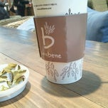 Photo taken at Caffé bene by 택택 K. on 1/4/2012