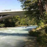 Photo taken at Blejski Most by Adventure Rafting Bled R. on 8/22/2011