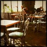 Photo taken at Burlington Bagel Bakery & Cafe by Erica on 1/3/2012