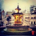 Photo taken at Independence Square (Dataran Merdeka) by Jake B. on 5/29/2012