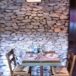 Photo taken at Restaurante Larruzz Bilbao by La Visita C. on 2/15/2012