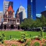 Photo taken at Copley Square by IWalked Audio Tours on 9/20/2011