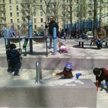Photo taken at John Jay Playground by Elena V. on 3/26/2012