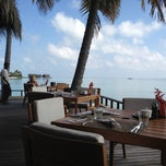 Photo taken at One & Only Reethi Rah Restaurant by Marwan O. on 12/2/2011