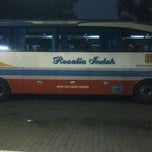 Photo taken at Agen Bus Rosalia Indah by Alex E. on 9/9/2011