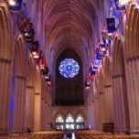 Photo taken at Washington National Cathedral by Charlotte W. on 4/16/2012
