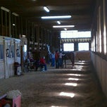 Photo taken at Creek Bend Stables by Chris B. on 3/3/2012