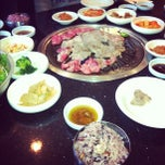 Photo taken at Palace Korean Bar & Grill by Shayne S. on 1/31/2012