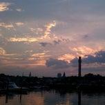 Photo taken at Wharf Lane Pier by Jonathan Y. on 7/19/2012