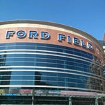 Photo taken at Ford Field by Colin R. on 7/23/2012