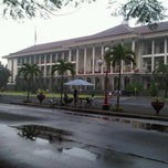 Photo taken at Gedung Pusat UGM by Soemantoro S. on 3/10/2012
