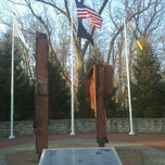Photo taken at The September 11 Memorial in Echo Lake Park by Arkadiusz G. on 3/6/2012