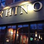 Photo taken at The Rhino by Brendan P. on 2/23/2012