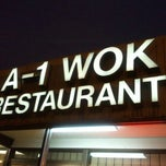 Photo taken at A-1 Wok by Akoko R. on 12/29/2011