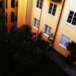 Photo taken at Nybrogatan 66 by Victor S. on 7/19/2011