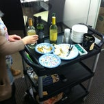 Photo taken at RAPP Wine Down Friday Wine Cart by Mike M. on 2/12/2011
