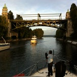 Photo taken at Montlake Bridge by David M. on 9/23/2011