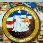 Photo taken at The Great American Diner and Pub by Randy G. on 8/14/2011
