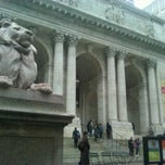 Photo taken at New York Public Library - Rose Main Reading Room by Farrah C. on 12/6/2011