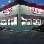 Photo taken at Five Guys by Kevin H. on 8/4/2012