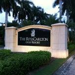 Photo taken at The Ritz-Carlton Golf Resort, Naples by JA Design on 9/9/2012