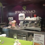 Photo taken at Jeronymo CoffeeShop by José C. on 9/3/2012