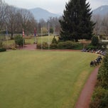 Photo taken at Golf Club Lugano by Learco B. on 3/4/2012