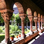 Photo taken at The Cloisters by Nina Y. on 7/6/2012