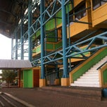 Photo taken at Stadion Lebak Bulus by Zoelfikar K M. on 1/23/2012