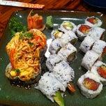 Photo taken at JoTo Thai-Sushi Tampa by Ashley M. on 12/12/2011