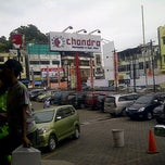 Photo taken at chandra super-store by egi g. on 4/8/2012