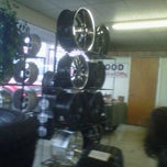 Photo taken at City Tire And Battery by gypsy l. on 5/15/2012