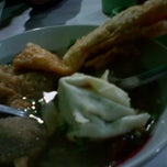 Photo taken at Bakso Empal Sapi by Tatya A. on 8/2/2012